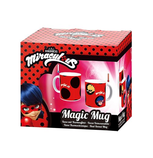 Miraculous: Tales of Ladybug & Cat Noir Color Changing Mug