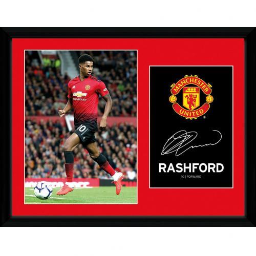7d63abcfb Manchester United F.C. Picture Rashford 16 x 12