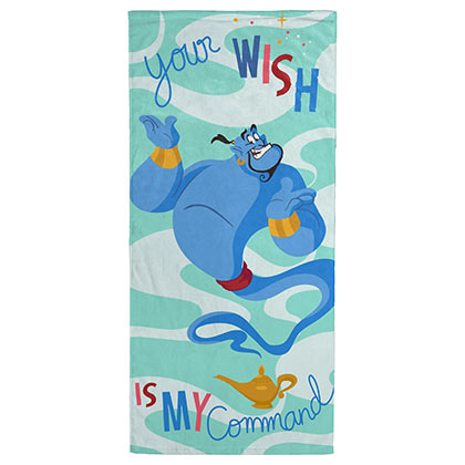 ALADDIN Your Wish Is My Command Beach Towel