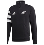 All Blacks Sweatshirt1/4 ZIP 3 Stripes