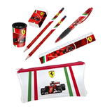 Ferrari Pencil case and Stationery set