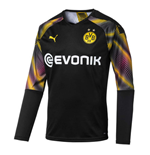 2019-2020 Borussia Dortmund Third Goalkeeper Shirt (Black)