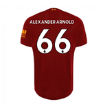 2019-2020 Liverpool Home Football Shirt (Alexander-Arnold 66)