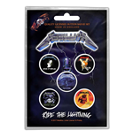 Metallica Button Badge Pack: Ride the Lightning (Retail Pack)