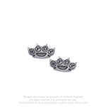 Five Finger Death Punch Stud Earrings: Knuckleduster