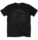 AC/DC Unisex Tee: Hard As Rock