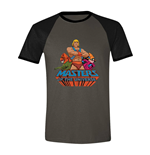 Masters of the Universe Raglan T-Shirt Characters