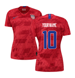 2019-2020 USA Away Nike Womens Shirt (Your Name)