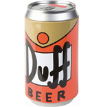 Simpsons Coin Bank Duff Beer 20 cm
