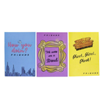 Friends Notebook 3-Pack Phrases