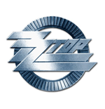 ZZ Top Pin Badge: Circle