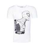 Spiderman - Side View Spidey Men's T-shirt
