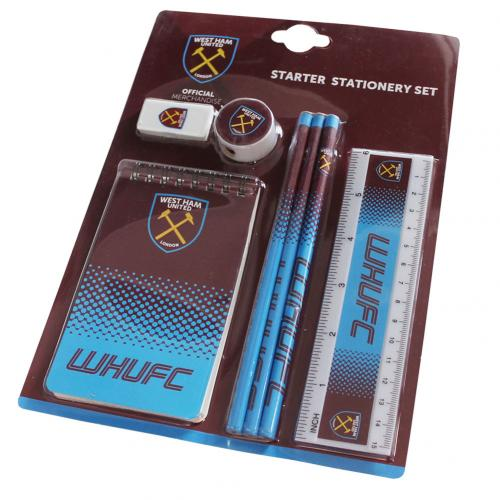 West Ham United F.C. Starter Stationery Set