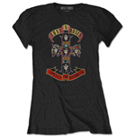 Guns N' Roses Ladies Tee: Appetite for Destruction (Retail Pack)