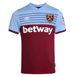 2019-2020 West Ham Home Football Shirt