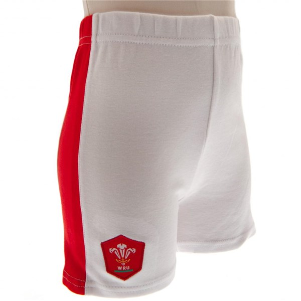 Wales R.U. Shirt & Short Set 3/6 mths QT