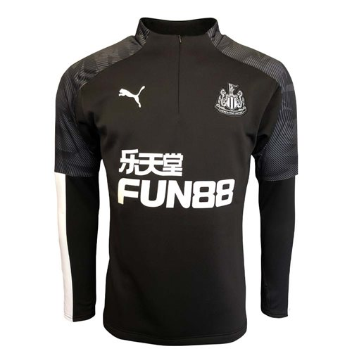 2019-2020 Newcastle Puma Training Fleece (Black)