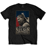 Willie Nelson Unisex Tee: Born For Trouble