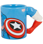 Marvel 3D Mug Captain America