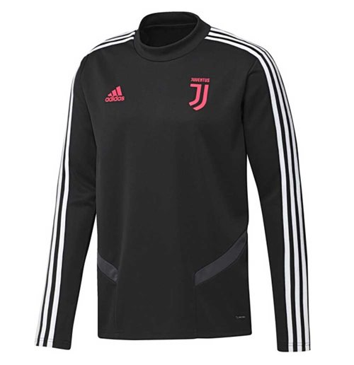 2019-2020 Juventus Adidas Training Top (Black)