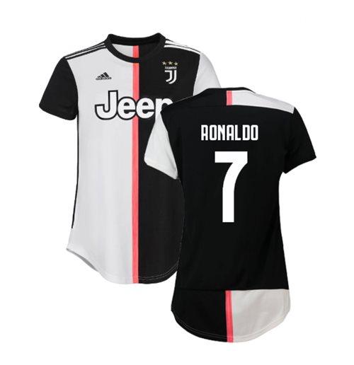 new concept bb469 a29db 2019-2020 Juventus Adidas Home Womens Shirt (Ronaldo 7)