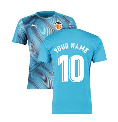 2019-2020 Valencia Puma Stadium Jersey (Blue) (Your Name)