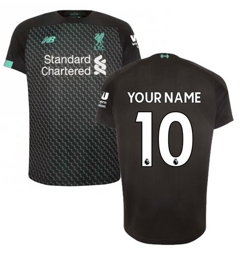 2019-2020 Liverpool Third Football Shirt (Kids) (Your Name)