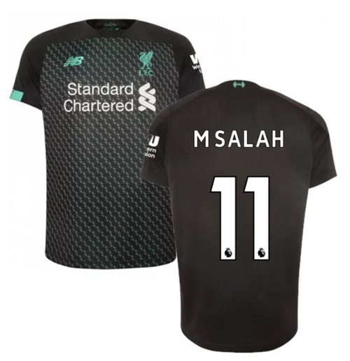 2019-2020 Liverpool Third Football Shirt (Kids) (M Salah 11)