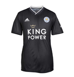 2019-2020 Leicester City Away Football Shirt (Grey)