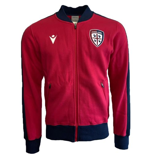 2019-2020 Cagliari Travel Sweatshirt (Red)
