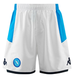 2019-2020 Napoli Kappa Third Shorts (White)
