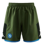 2019-2020 Napoli Kappa Away Shorts (Green)