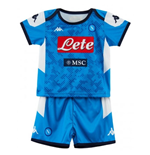 2019-2020 Napoli Kappa Home Football Kit (Kids)
