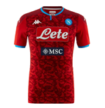 2019-2020 Napoli Kappa Home Goalkeeper Shirt