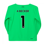 2019-2020 Liverpool Away Goalkeeper Mini Kit (A Becker 1)