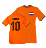 Ruud Gullit Holland Ringer Tee (orange)