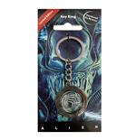 Alien Metal Keychain In Space No One Can Hear You Scream