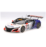 ACURA NSX GT3 #43 REALTIME RACING 2ND PLACE PIRELLI WORLD CHALLENGE 2017