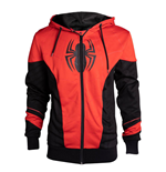 Spider-Man Hooded Sweater Red & Black Outfit