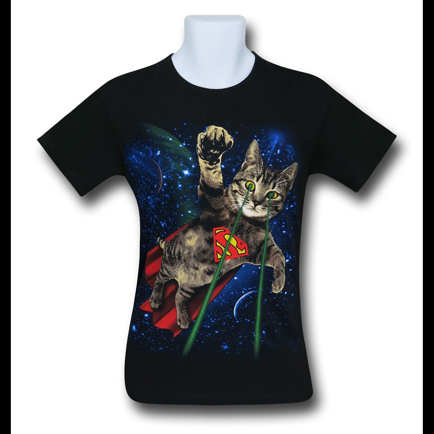 Superman Super Kitty in Space Men's T-Shirt