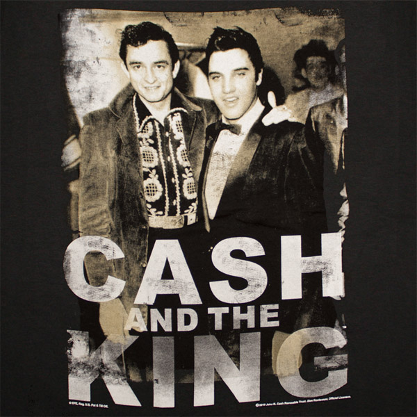 Official Johnny Cash Elvis Presley King Tee Shirt Buy