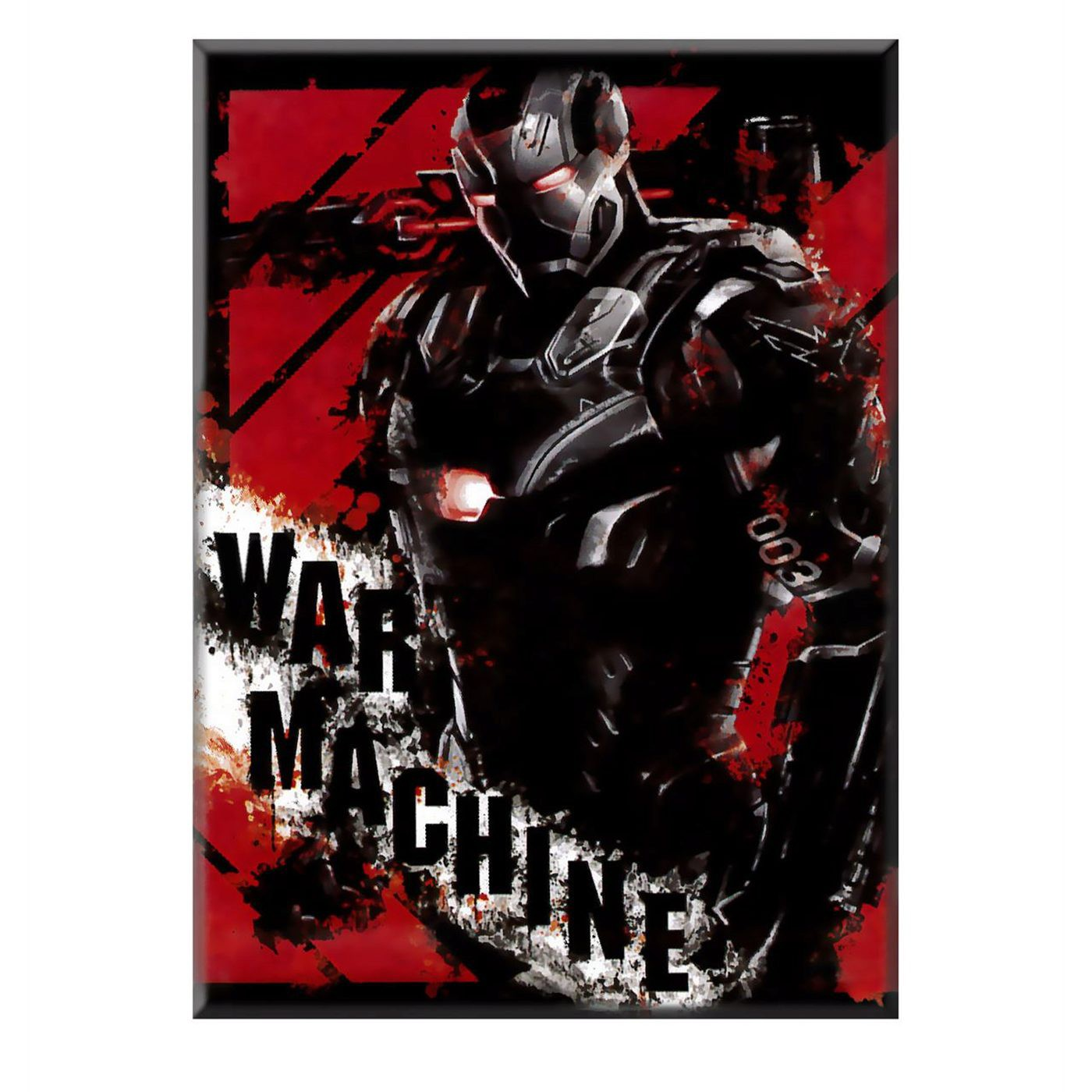 Captain America Civil War War Machine Magnet