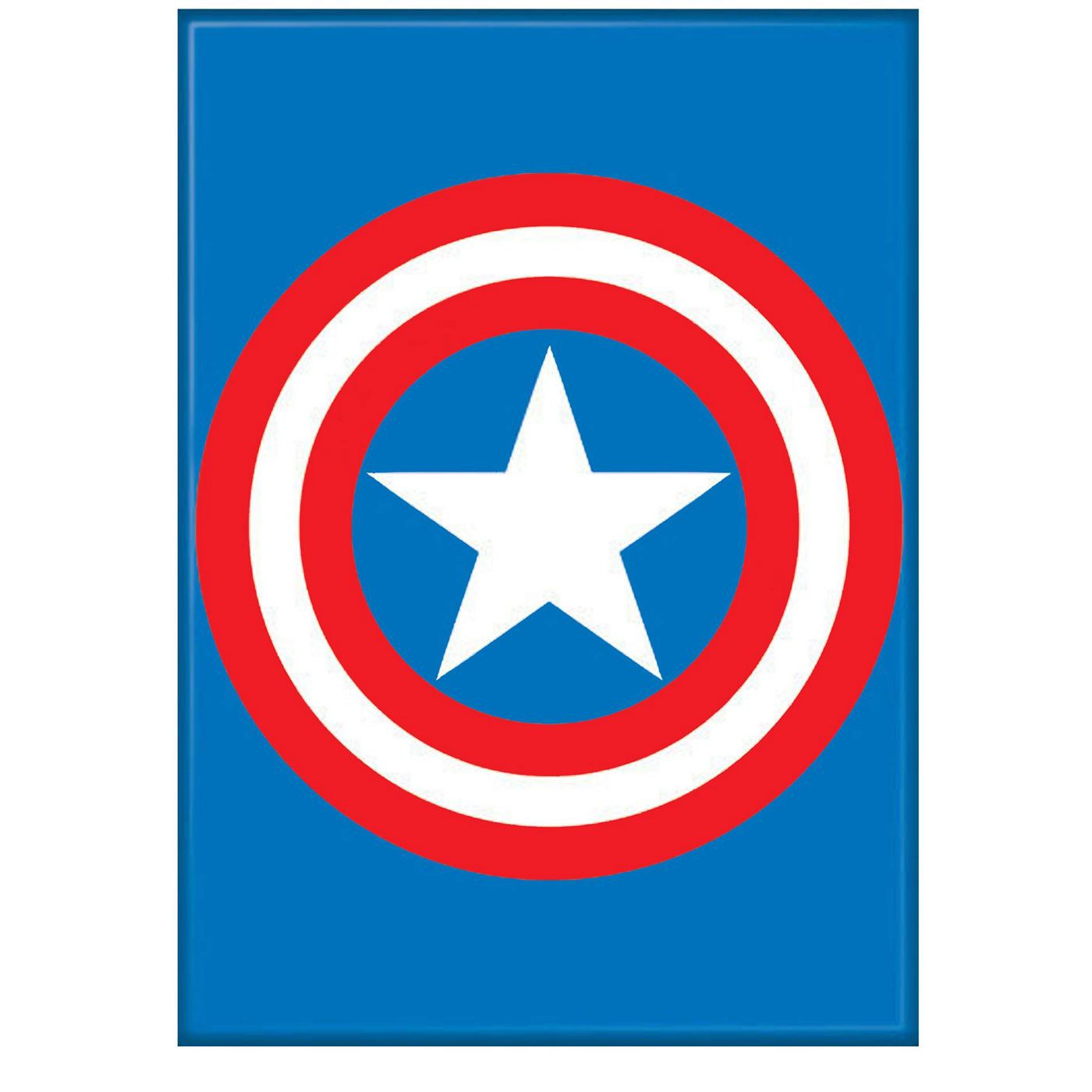 Captain America Shield Symbol Magnet