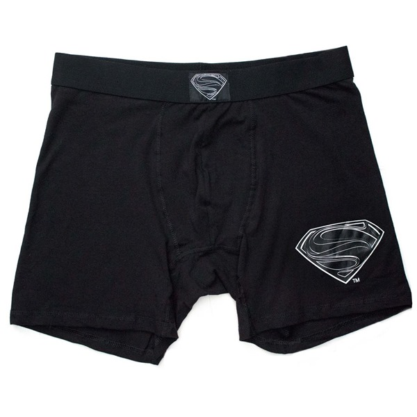 Superman Black Suit Men's Underwear Boxer Briefs