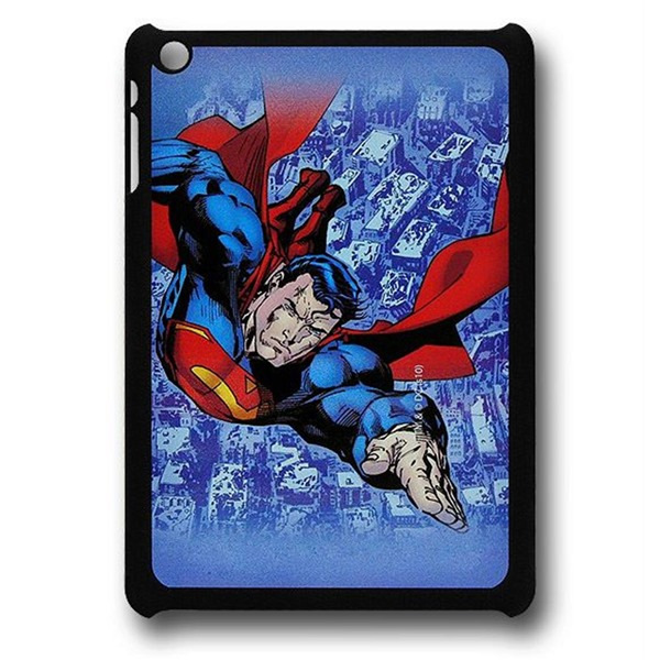 Superman Strafing Ruins Thinshield iPad Mini Cover