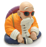 Dragon Ball Master Roshi Mini Bank Money Box