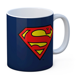 Superman Logo Ceramic Mug