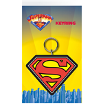 Superman Logo Key Holder Keychain