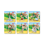 Asterix Olympic Games 6 Coasters Set