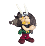 Asterix Asterix With Boar Figure